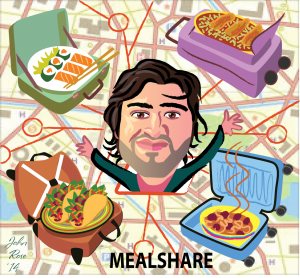 Jay Savsani, Meal Sharing